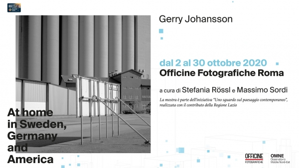 Gerry Johansson in mostra dal 2 ottobre a Officine Fotografiche, At Home in Sweden, Germany and America